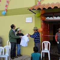Inauguration of Ccochapata Community Centre Completed by Panoro.