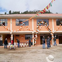 Inauguration of Ccalla Community Centre Completed by Panoro